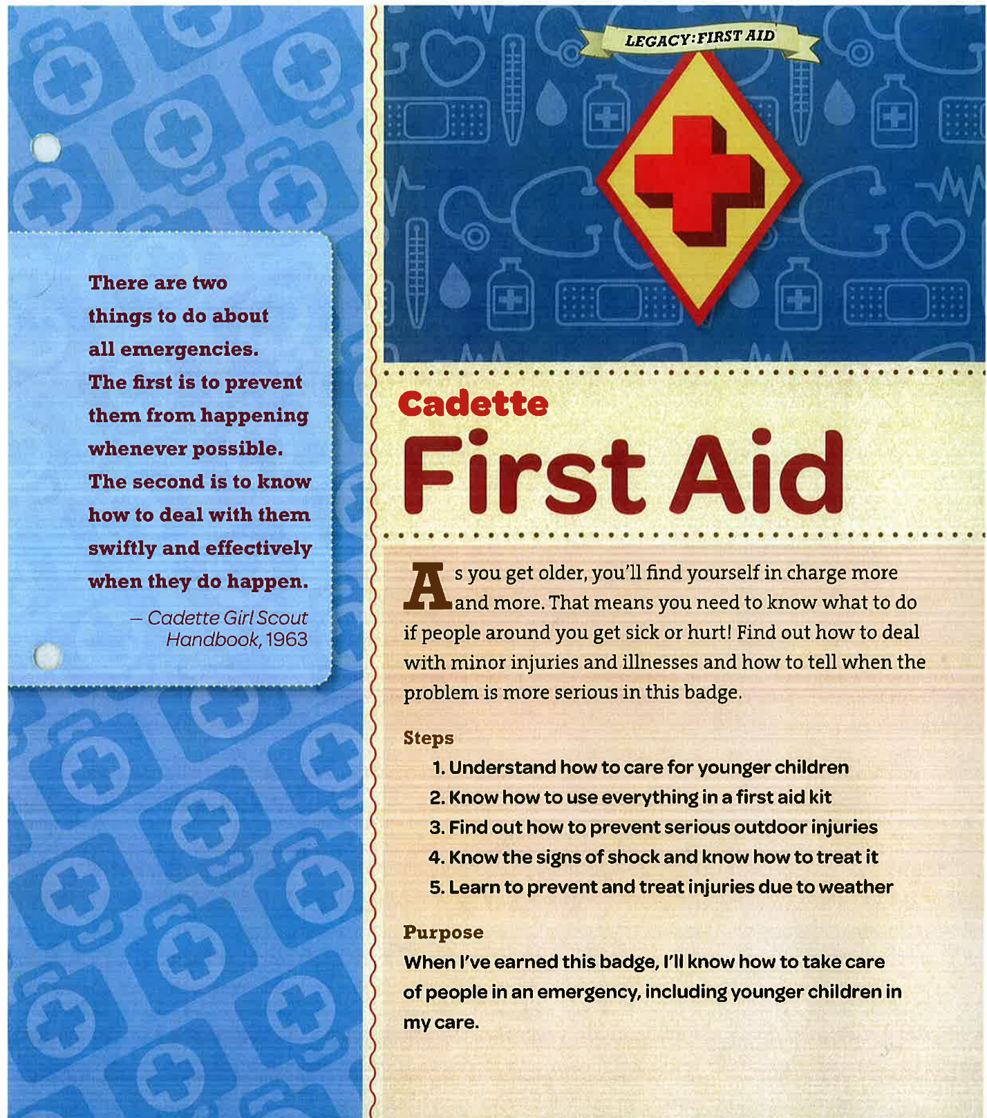 Cadette First Aid