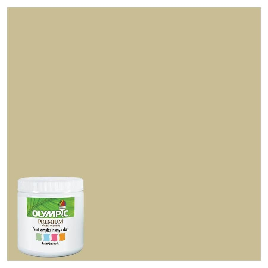 Shop Olympic 8 Oz Crocodile Tears Interior Satin Paint Sample At Lowes Com Satin Paint Olympic Paint Teal Living Rooms