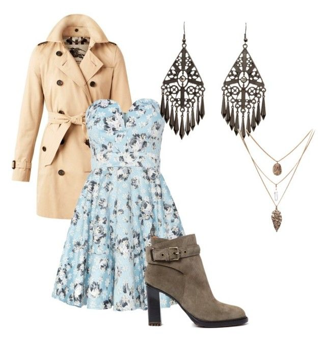 """""""Untitled #39"""" by grettarosed on Polyvore featuring Burberry, TFNC, Charlotte Russe and Etro"""