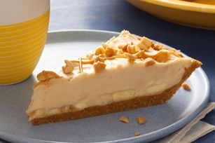 They should of fucked this pie in American Pie.....Creamy PB and Banana Pie recipe #bananapie
