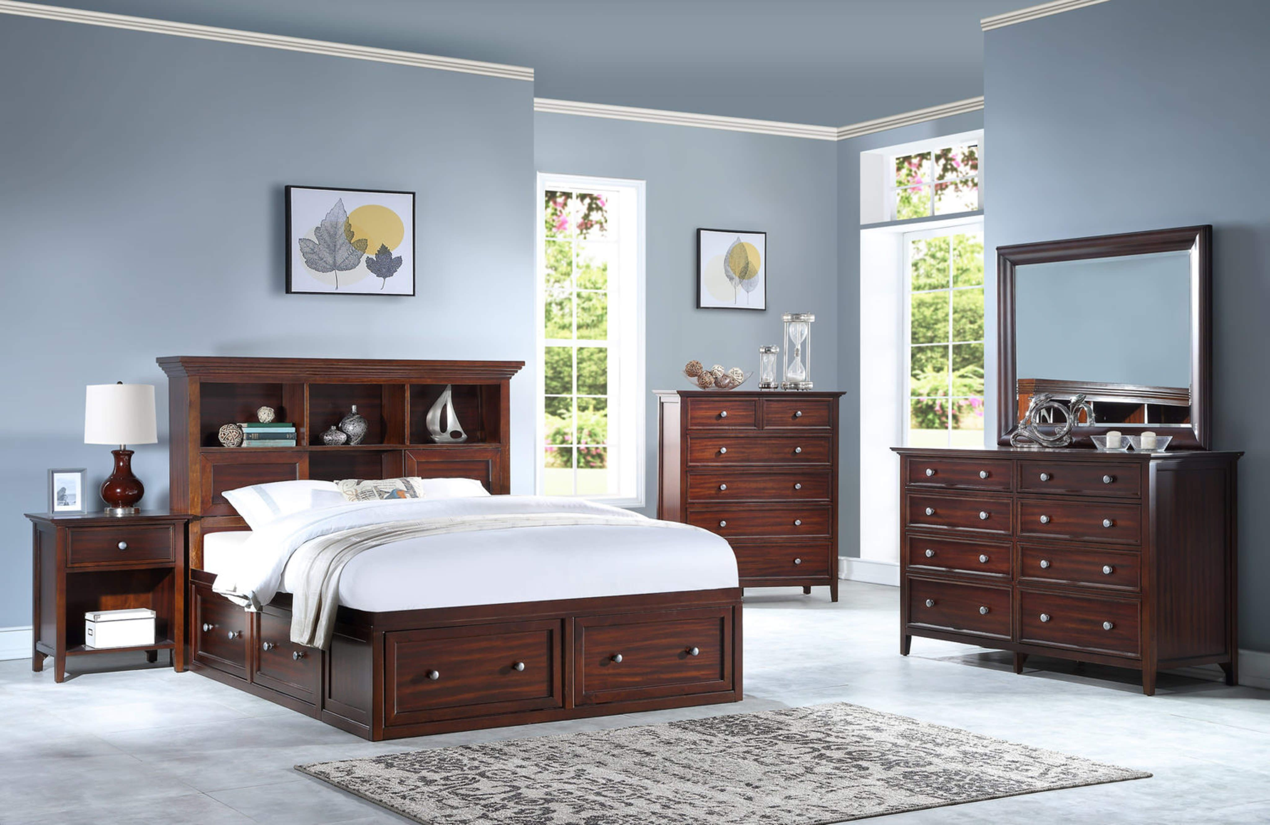 Small Bedroom Solutions design blog by HOM Furniture