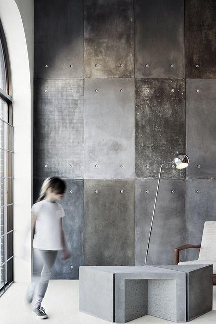 Atelier B - Panneaux muraux en béton