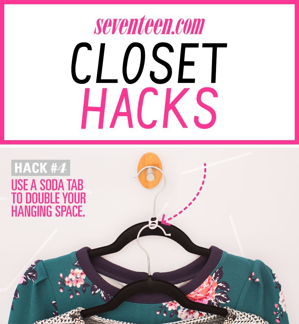 15 Life-Changing Closet Organizing Hacks for Girls Who Have Too Many Clothes -   18 DIY Clothes Storage life changing ideas