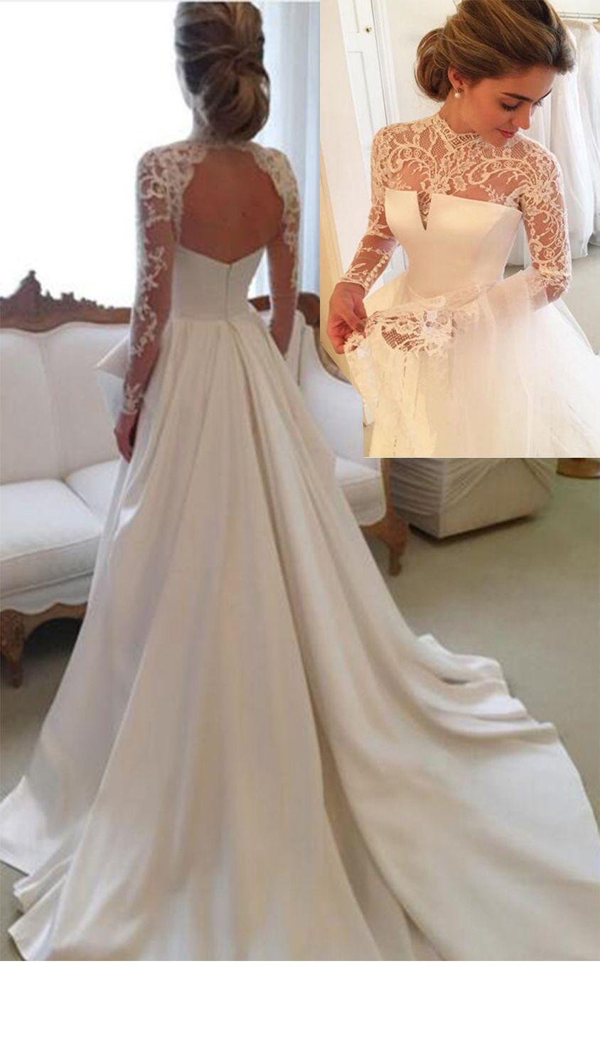 26+ Open back vintage lace wedding dresses information