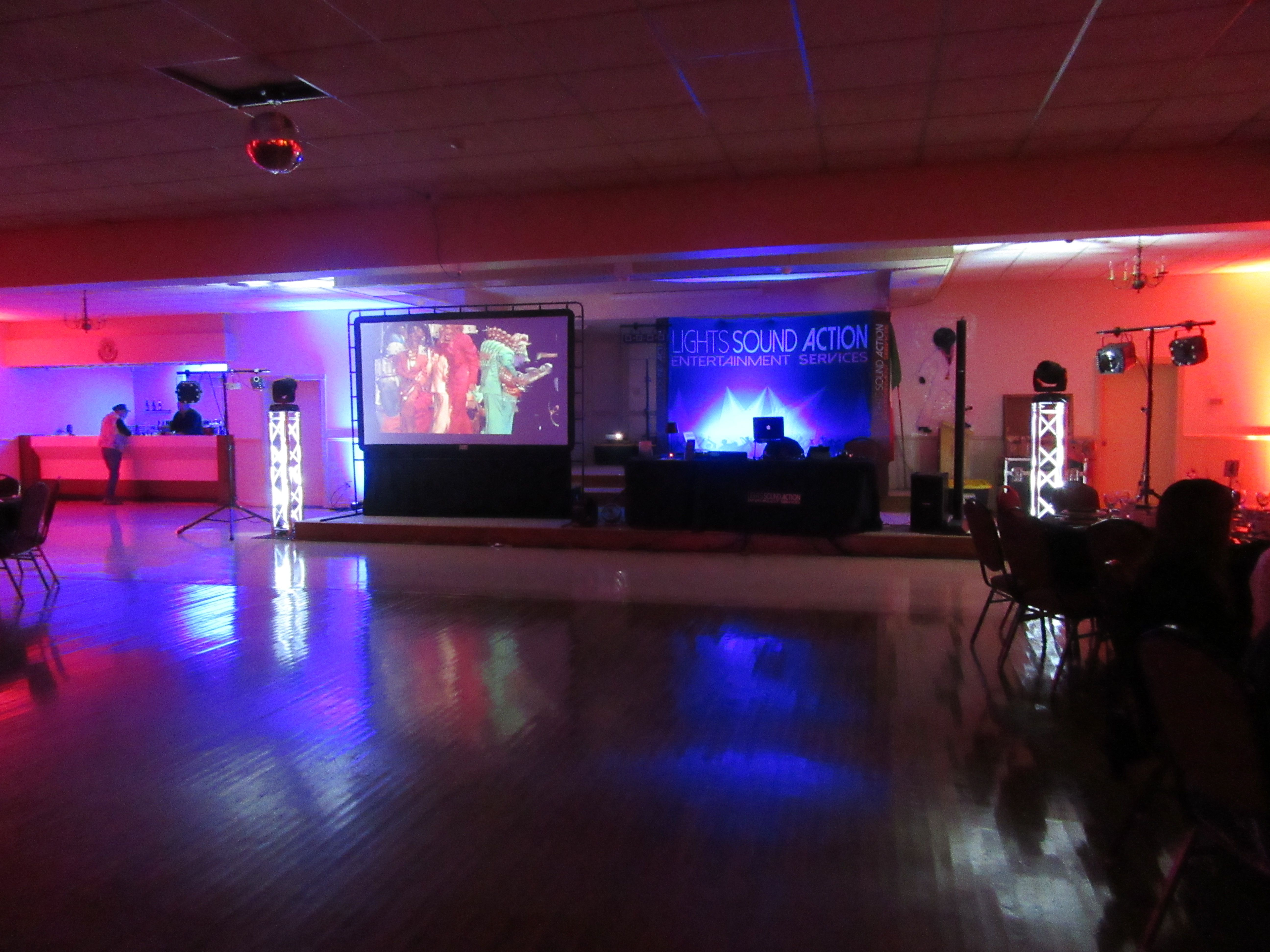 Lighting Effects by Lights Sound Action Entertainment