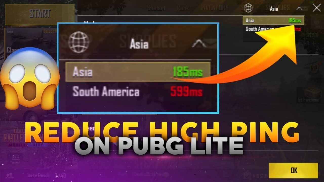 How To Reduce High Ping In Pubg Mobile Lite? | Gaming | Logos
