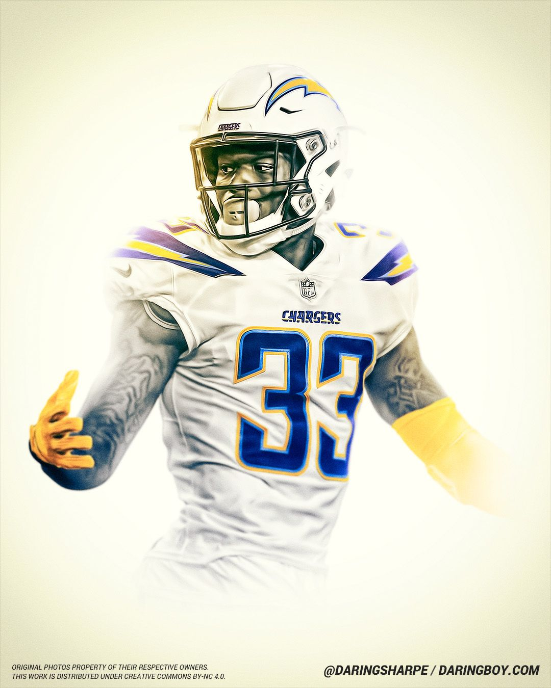 Derwin James Los Angeles Chargers Los Angeles Chargers