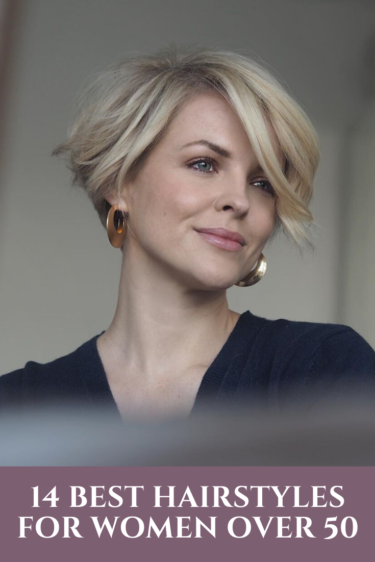 12 Best Short Hairstyles for Women Over 50