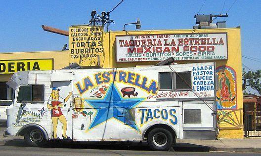 Good Eats East L A Style Food Truck Taco Truck Tacos