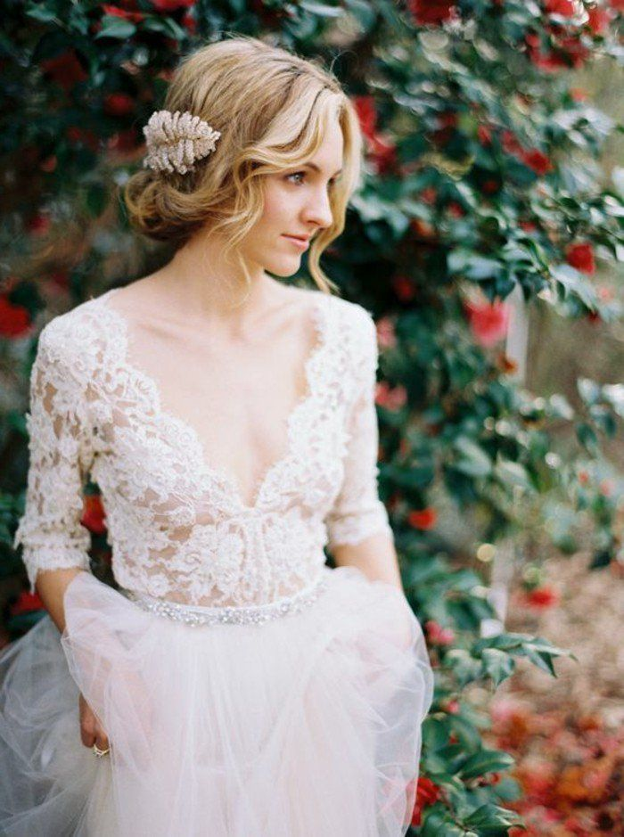 Robe de mariage civil 2018