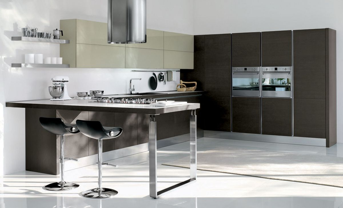 Contemporary kitchen systemkappa by zecchinon archisesto