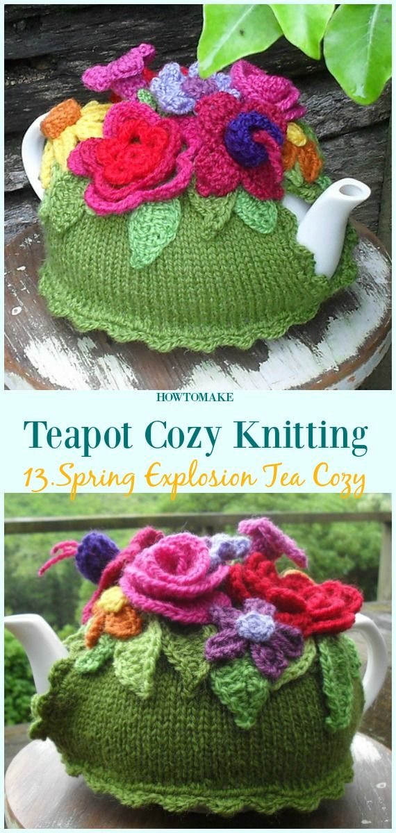 Teapot Cozy Free Knitting Patterns | Crochet projects | Pinterest ...