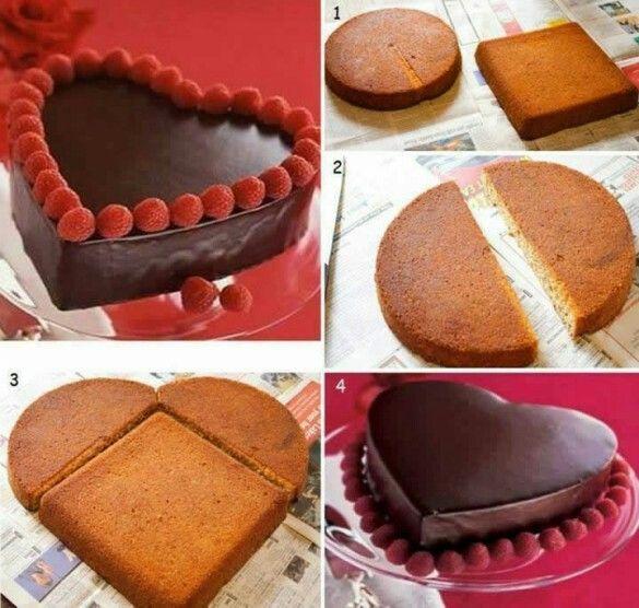 Herz Ohne Backform Kuchen Und Torten Kuchen Herzform Kuchen Ohne Backen