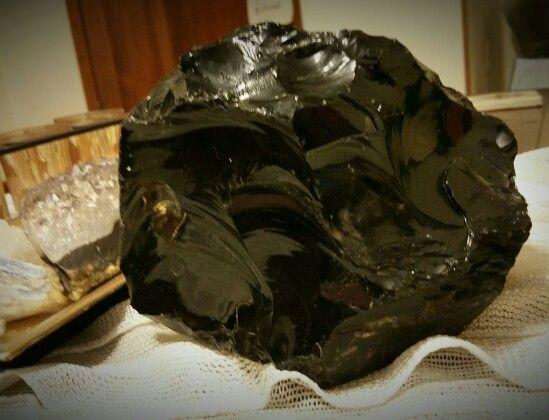 My new monster-sized Black Obsidian !