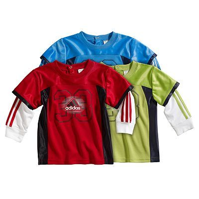 Download adidas Mock-Layer Jersey - (With images)   Boy outfits ...