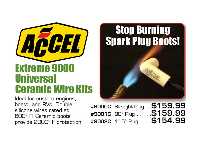 Accel Extreme 9000 Universal Ceramic Wire Kits Are Starting From