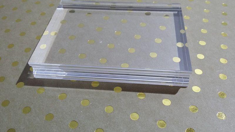 Acrylblock _ für Clear Stamps _ eckig von Gero by Flock & Flockig auf DaWanda.com