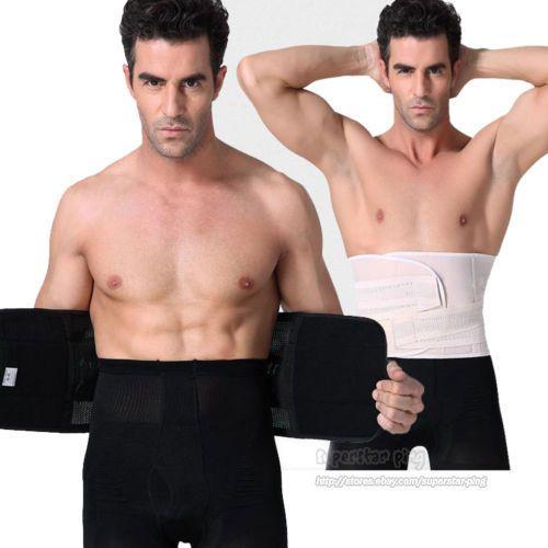 4a6e6b3a45347 Mens Girdle Belly Waist Tummy Slim Belt Body Shaper Cincher Corset Fat  Burner  ebay  Fashion