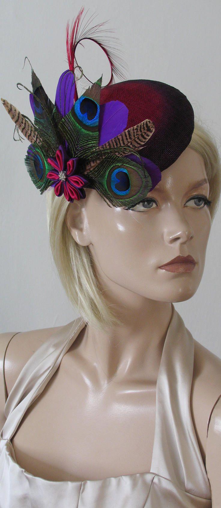 9c6eebc0 Beautiful Hand Made Headpiece Fascinator called
