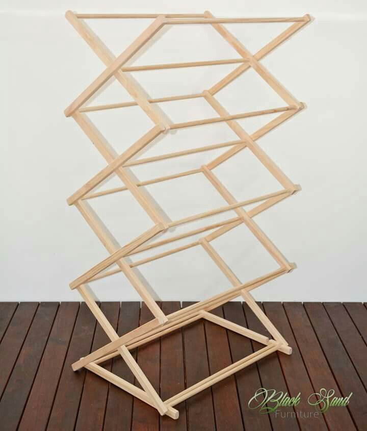 Wooden Clothes Dryer. The Tower #handmade #wooden #dryer