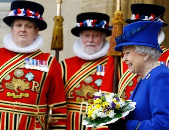 The Queen and Beefeaters