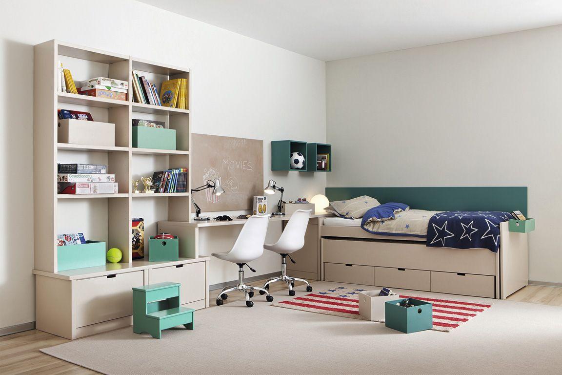 Dormitorio Compartido Por Dos Hermanos Little Deco Pinterest  # Muebles Najerilla