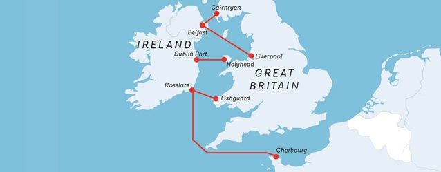 Routes To Ireland With Stena Line Ferries Dublin Ireland Belfast Ireland Ireland