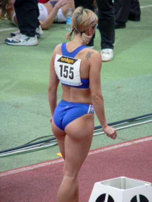 Sexy Female Track And Field