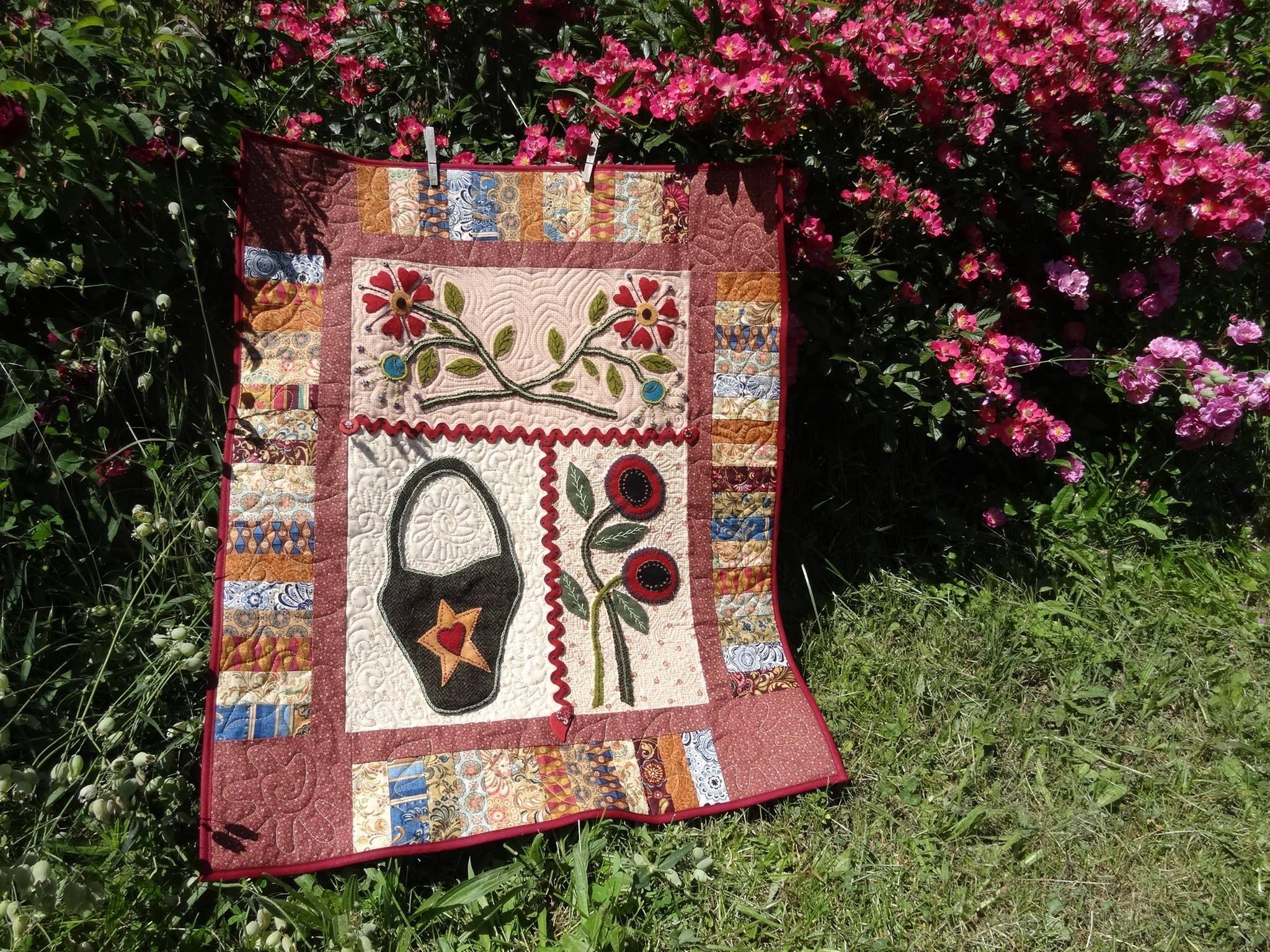 Martine Feougier Made Friendship Garden By Pam Buda And 400 x 300