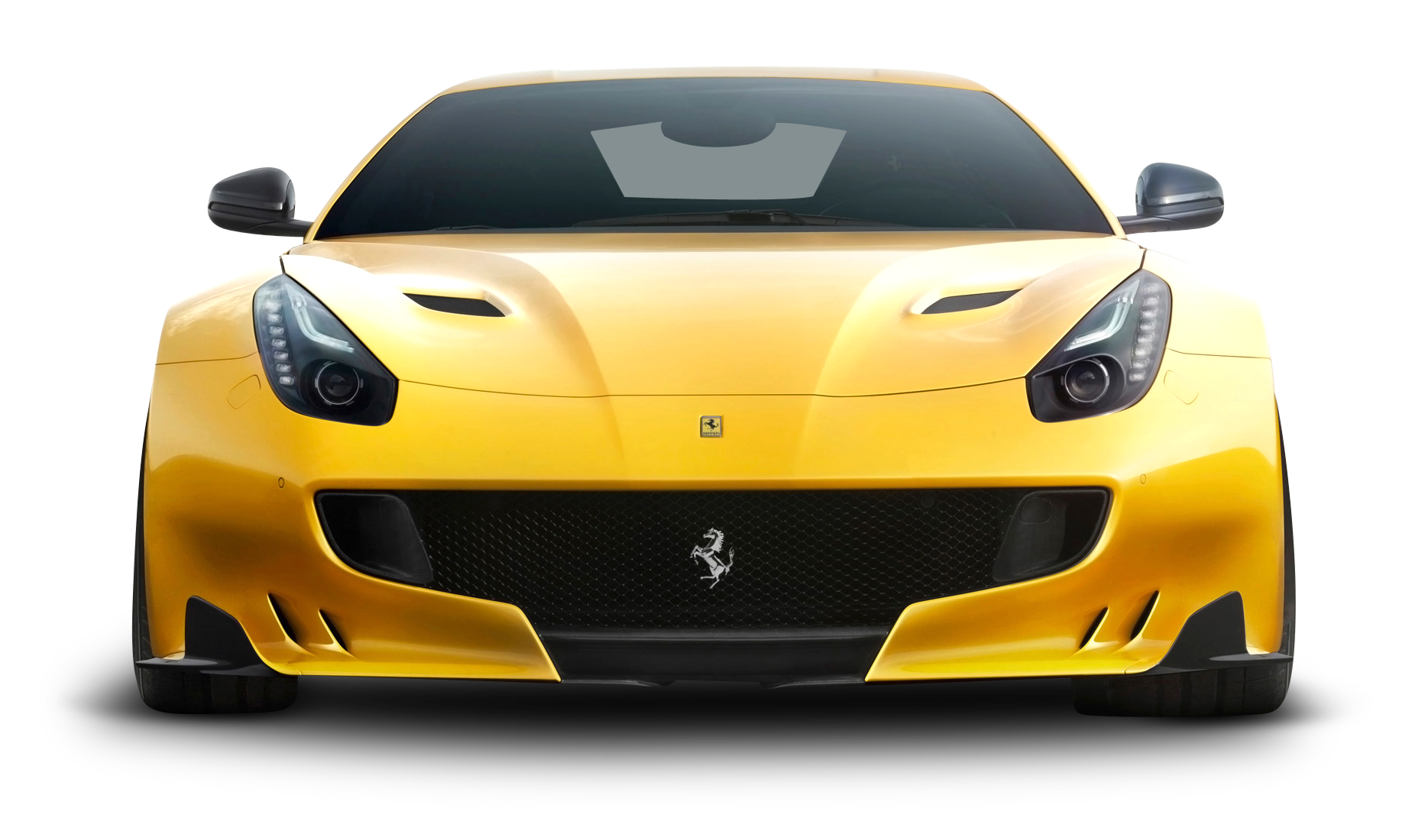 Download Yellow Ferrari F12tdf Car Front Png Image For Free Car Front Ferrari Car