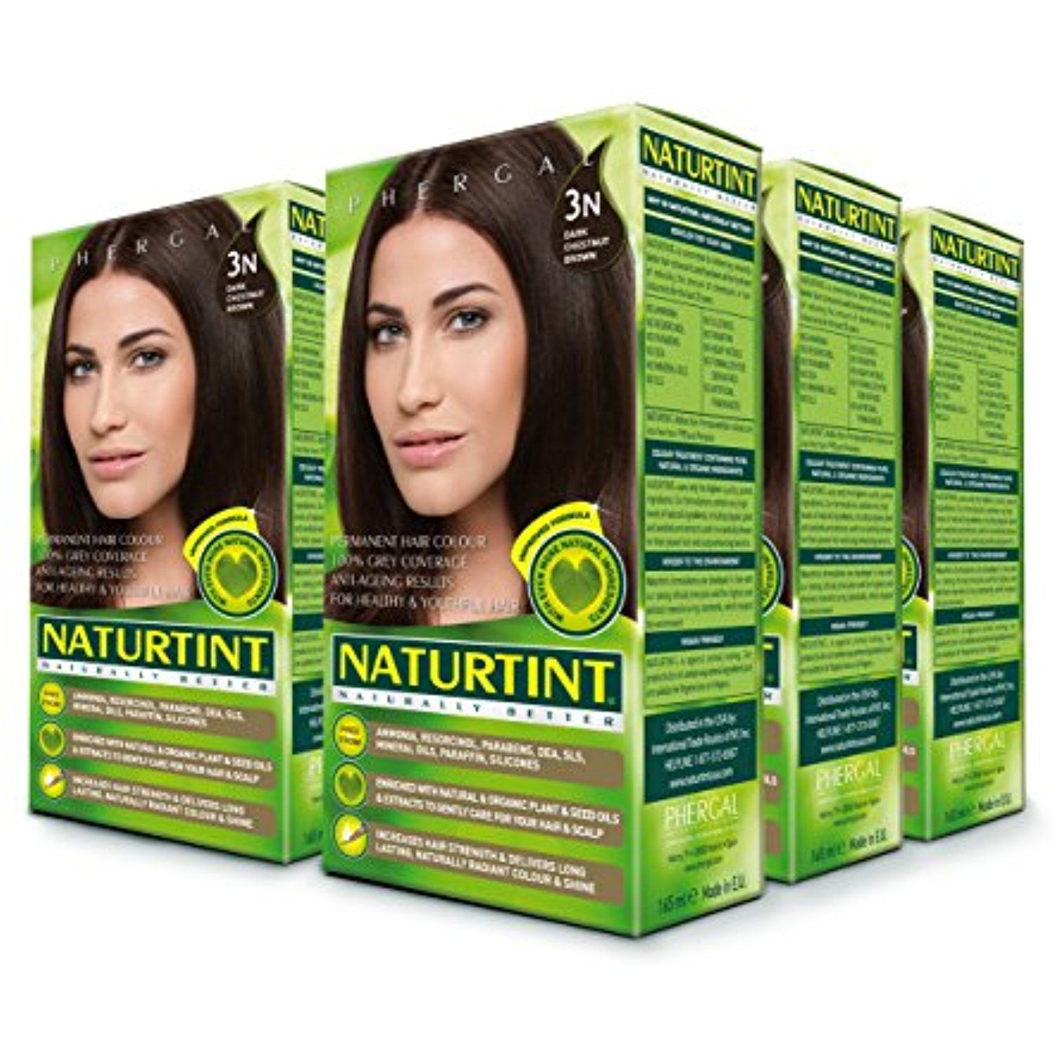 Naturtint Permanent Hair Color 3n Dark Chestnut Brown 5 28 Fl Oz 6 Pack Be Sure To Check Out This Permanent Hair Color Chestnut Hair Color Hair Color