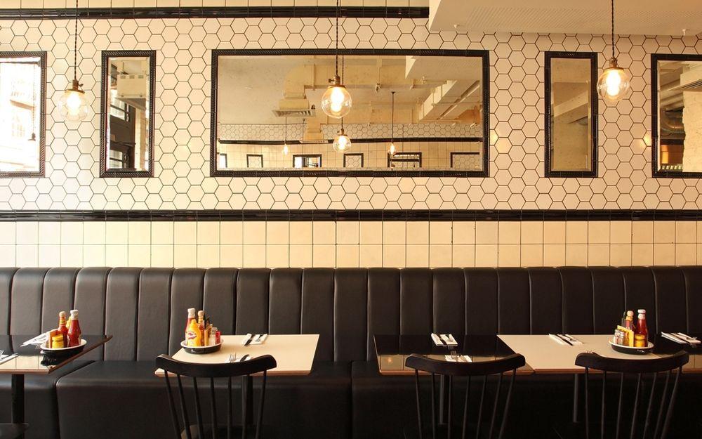 byron burger interior design Google Search Restaurant