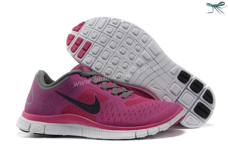 super popular 21265 e37f2 Fireberry Night Blue Cool Grey 511527-601 Nike Free 4.0 V2 Womens. Women  NikeNike FreeAir MaxSneakers