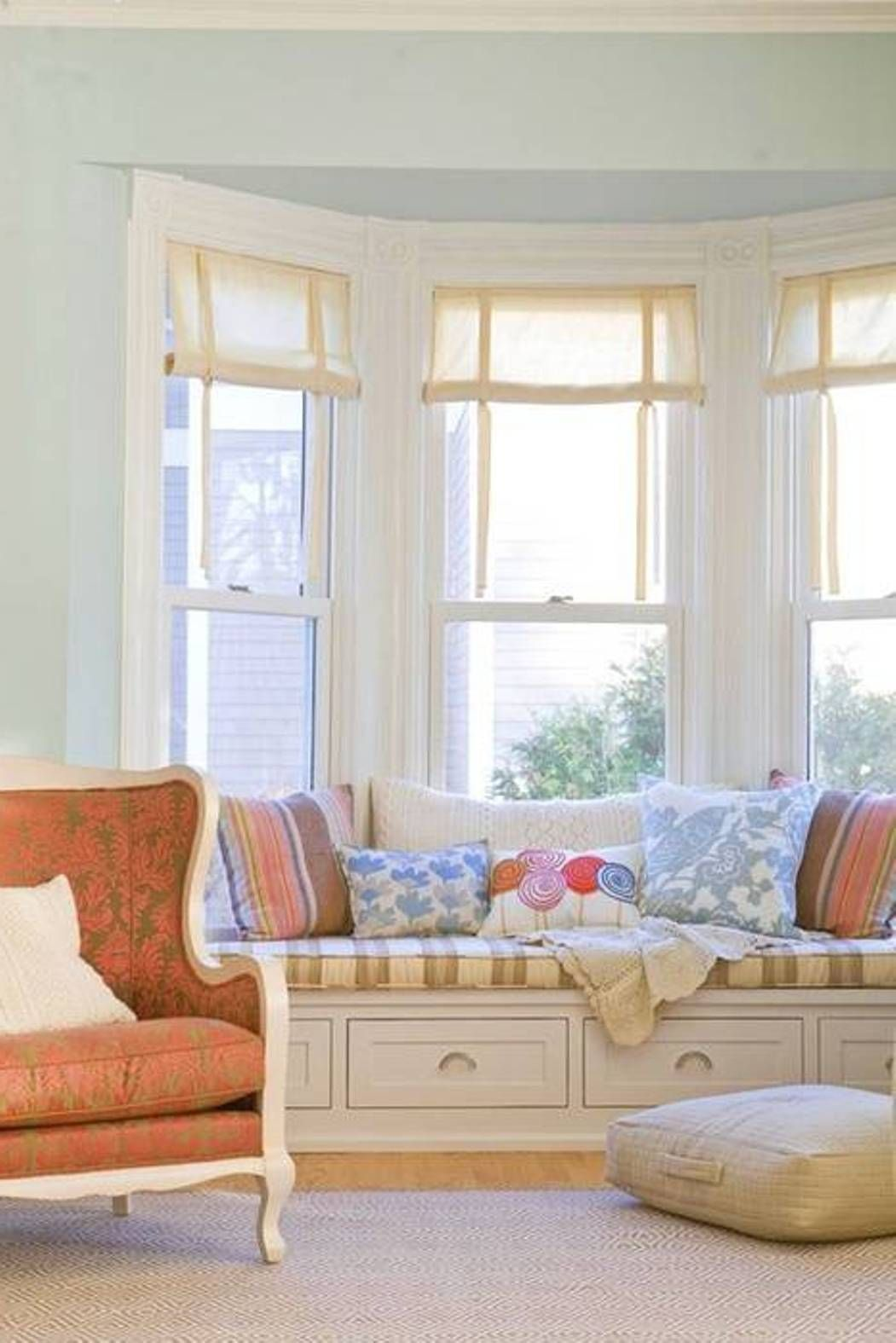 Bay Window Covering Ideas | Window coverings, Window and Bay windows