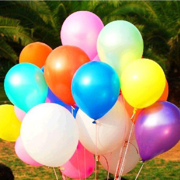 100PCS Colorful Balloon Birthday Christmas Wedding Party Decoration