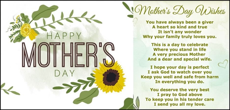 Happy Mother's Day Wishes, Messages, Greetings & SMS in