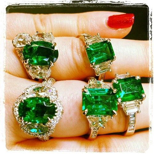 Too many #emeralds or not enough? #jewelry... | Diamonds in the Library