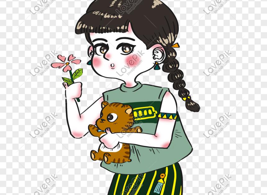 Paling Populer 30 Gambar Kartun Anak Cantik Hari Gadis