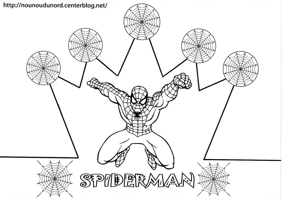 Couronne Spiderman Jpg Fichiers Partages Acrobat Com Boyama Sayfalari Sanat Etkinlikleri Faaliyetler
