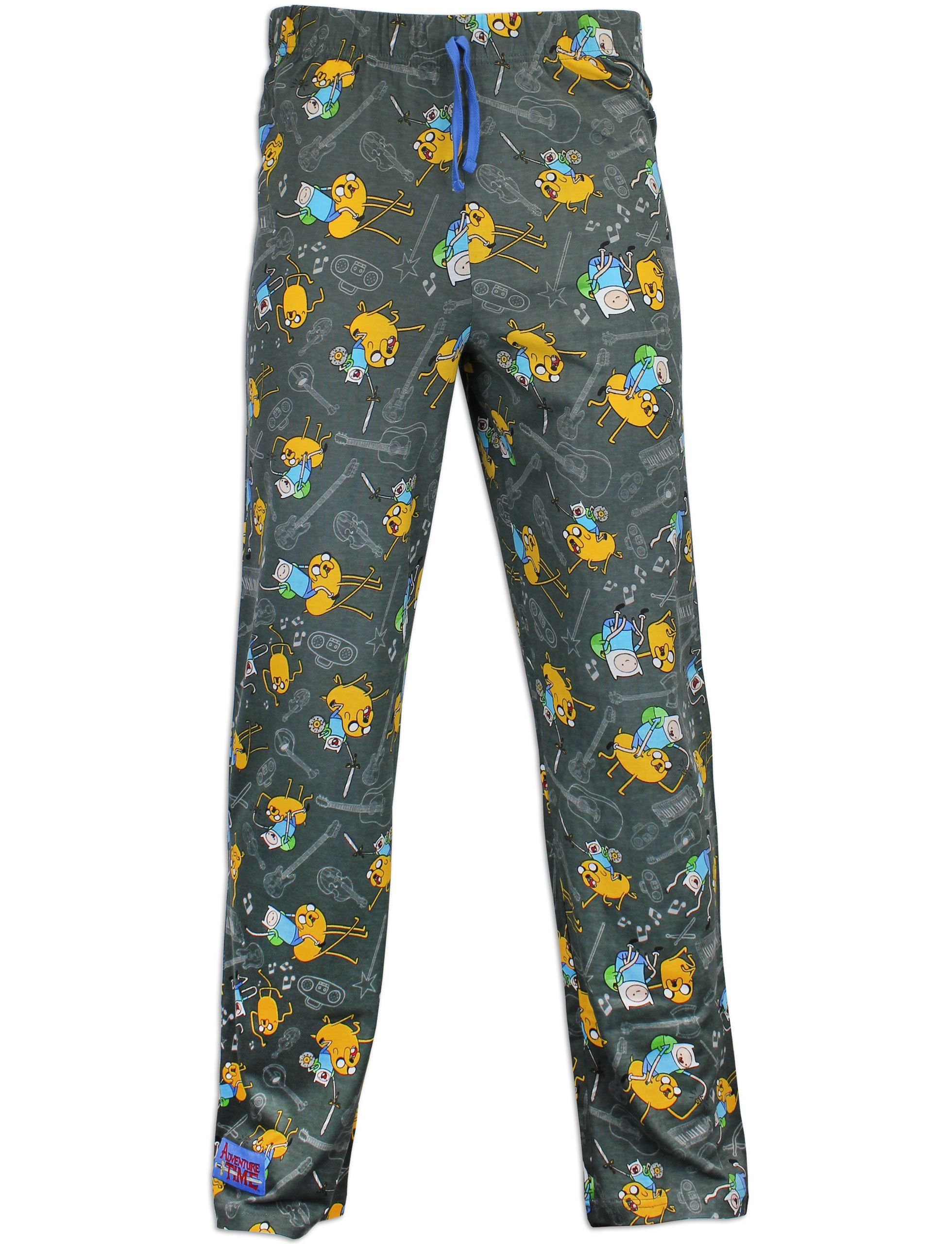 a1b1defbc Character Mens Adventure Time Lounge Pants Size Small | PYJAMAS ...