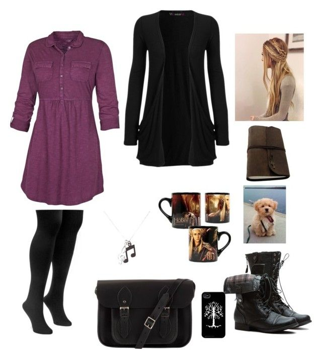 Chilly and Cuddles by rubygirl645 on Polyvore featuring polyvore fashion style Fat Face WearAll Muk Luks The Cambridge Satchel Company Paul Smith clothing