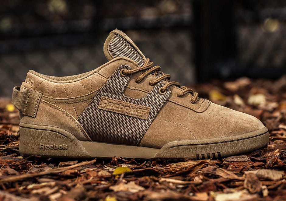 #sneakers #news  mita Sneakers Creates a Reebok Workout Low Inspired By Military Field Boots