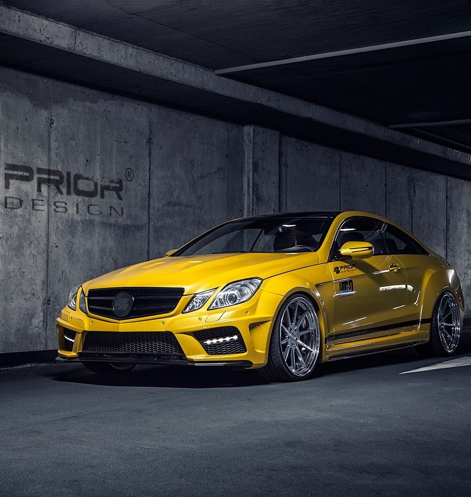 Black Edition Mercedes Benz EClass with PriorDesign