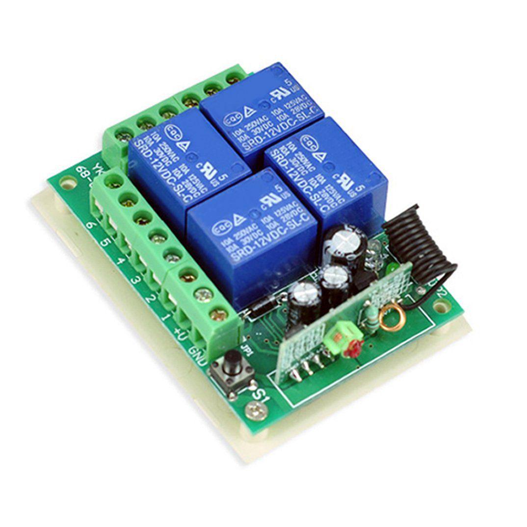 click to buy \u003c\u003c new 12v 4 channel wireless remote control receiverclick to buy \u003c\u003c new 12v 4 channel wireless remote control receiver momentary