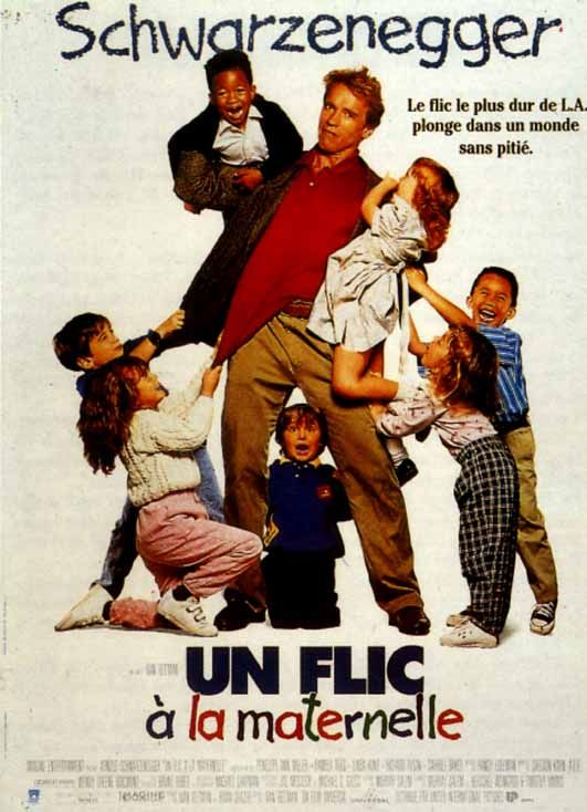 Un Flic A La Maternelle In 2020 Good Movies Movies Movie Tv