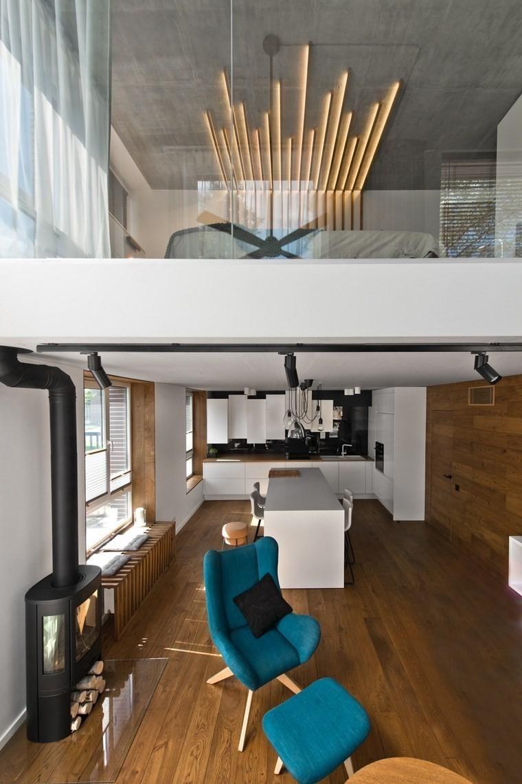 #Interior Design Haus 2018 Sehr Modernes Loft Design Im Skandinavischen  Stil #Trend #