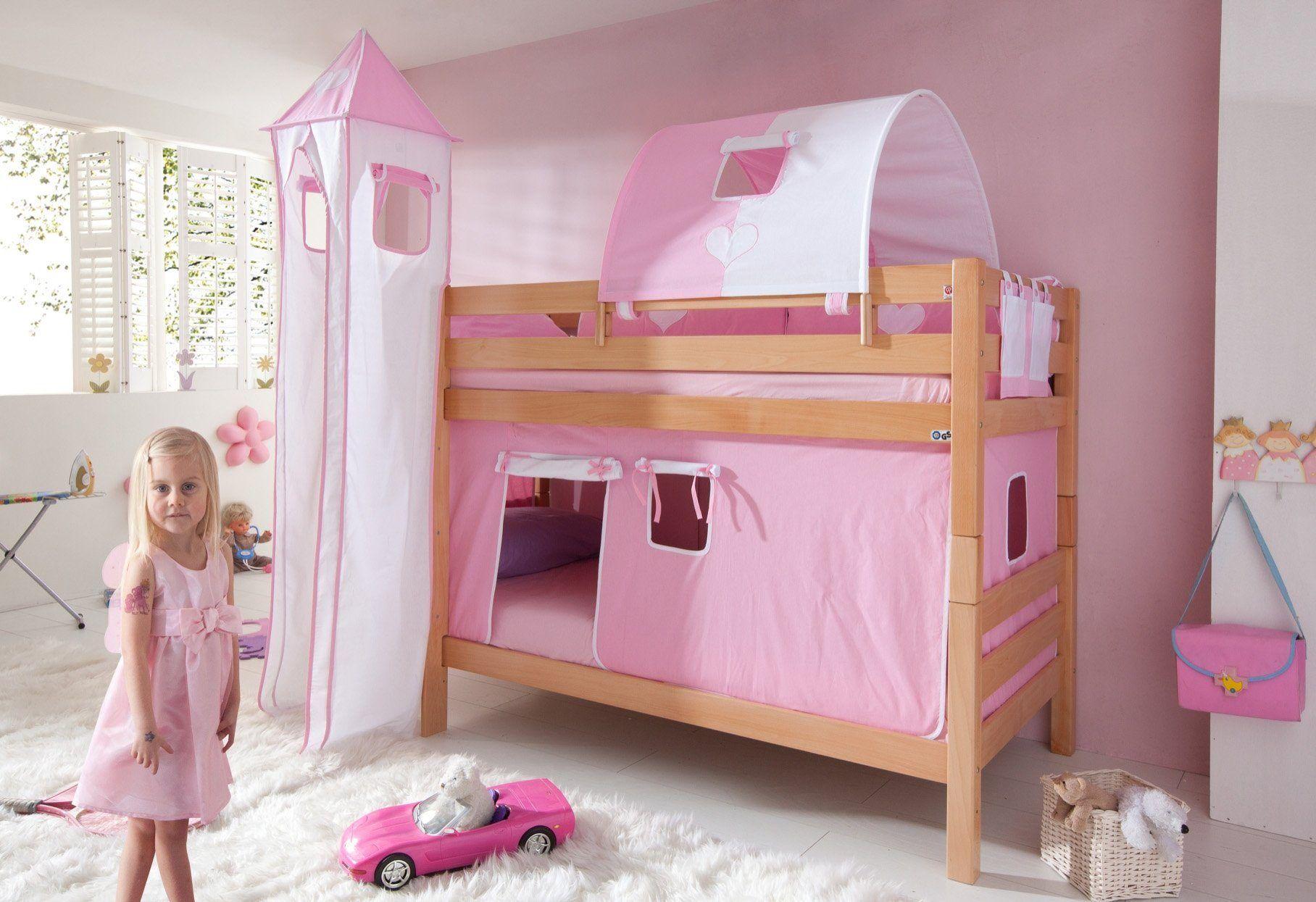 Etagenbett Rosa : Hoch etagenbetten von mobi und andere betten für kinderzimmer