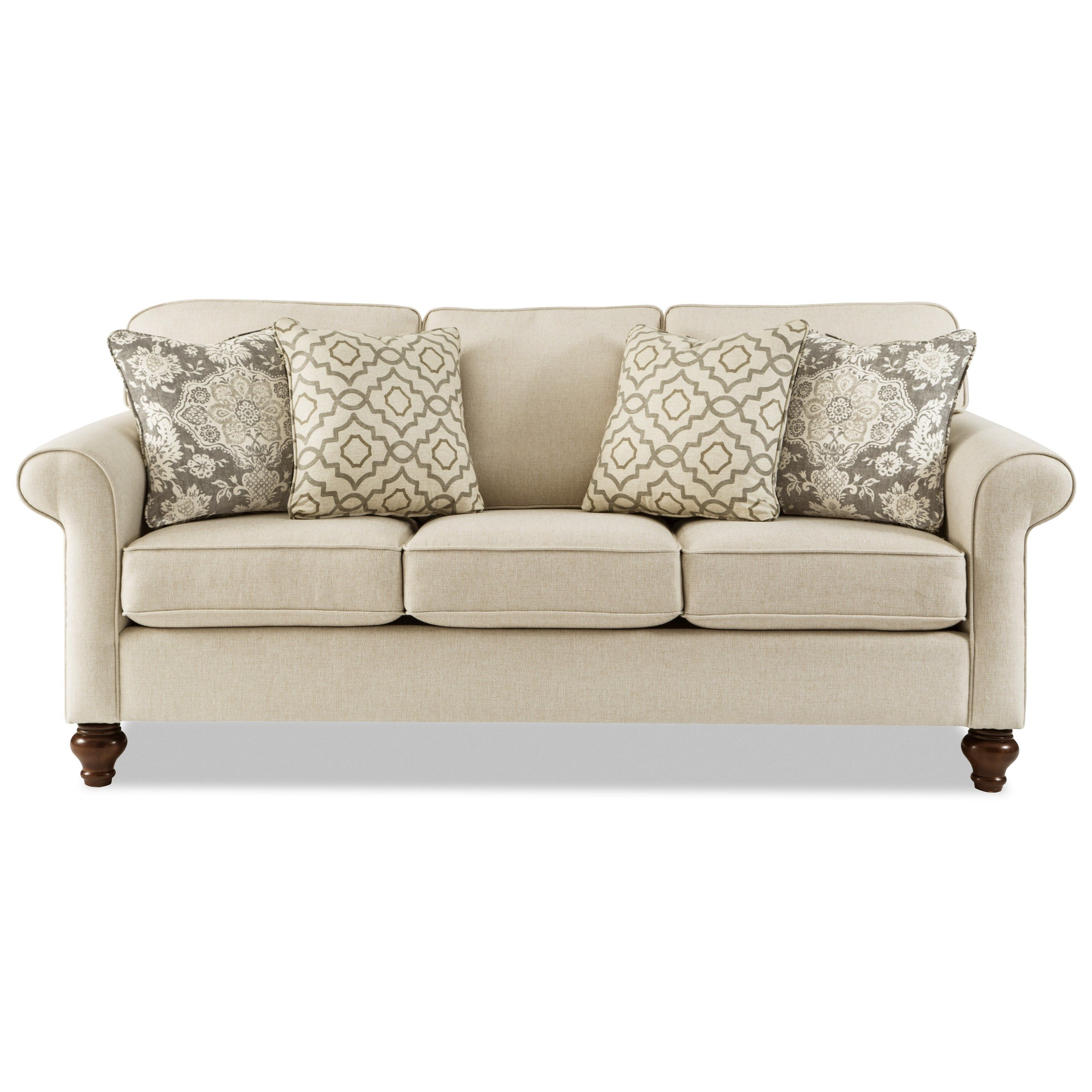 773850 Traditional Sofa By Hickory Craft At Godby Home Furnishings Craftmaster Furniture Furniture Traditional Sofa