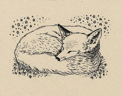 Fox patch | Foxes, Illustrations and Tattoo
