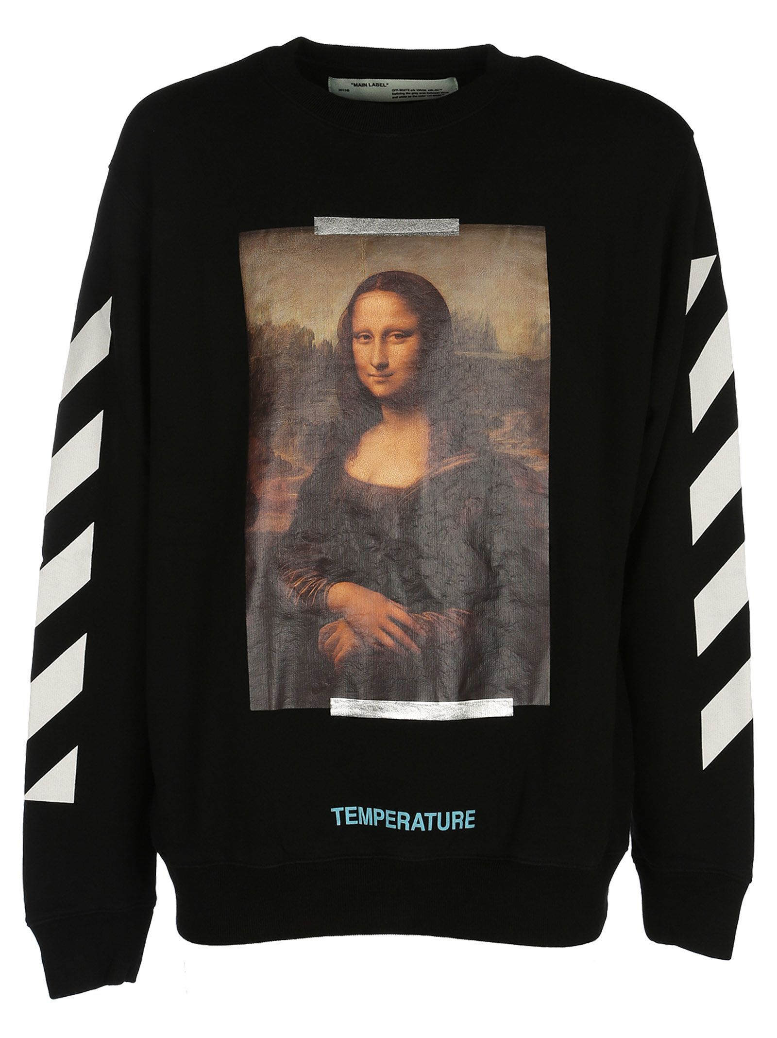 Off White Off White Mona Lisa Print Sweatshirt Off White Cloth Printed Sweatshirts Sweatshirts Cotton Sweatshirts [ 2136 x 1600 Pixel ]
